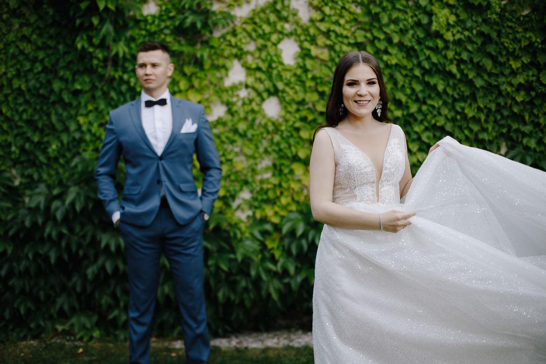 zdjęcia ślubne w muzeum w kozłówce
